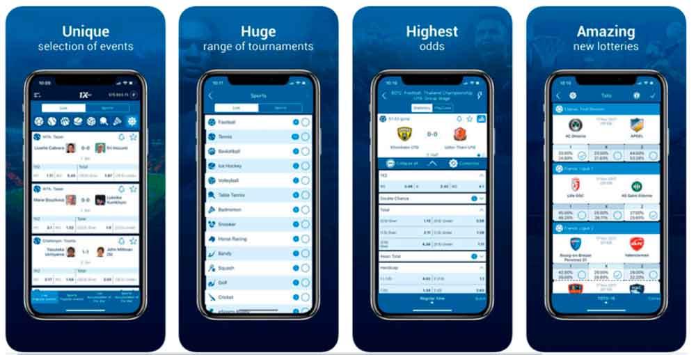 1xBet App: Features of 1xBet Online Sports Betting App